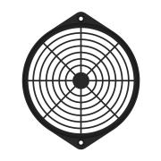 162mm Fan Guard, Plastic SC162-P10