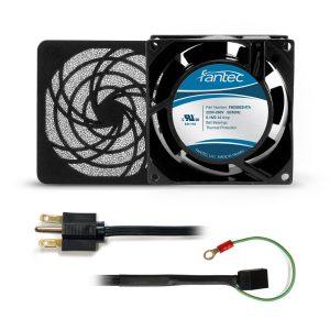 80mm Cabinet Cooling Fan Kit: 230v CAB801