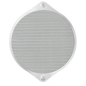162mm Aluminum Mesh Fan Filter, Black