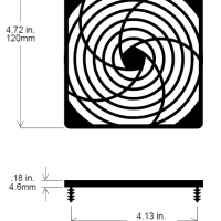 120mm Fan Guard ? SC120-P30