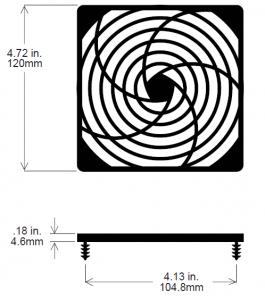 120mm Fan Guard – SC120-P30