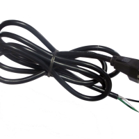 Fan Power Cord, Electrical US Wall Plug CAB125 NEMA 5-15P