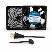 120mm Cabinet Cooling Fan Kit, Filter and Cord - 120v CAB703