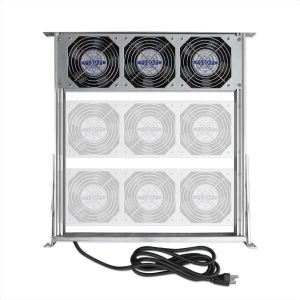 Server Rack Cooling Fan Tray Assembly 9 Fan 230v FTA-230-3