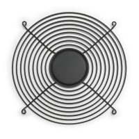 254mm Wire Fan Guard – SC1000-W1B Black